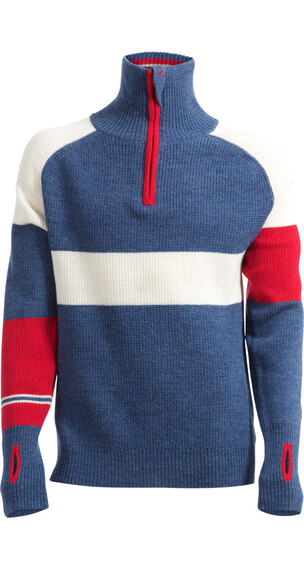Ulvang Rav Limited Sweater with Zip Men Navy Melange/Norge